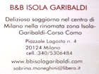 B&B ISOLA GARIBALDI