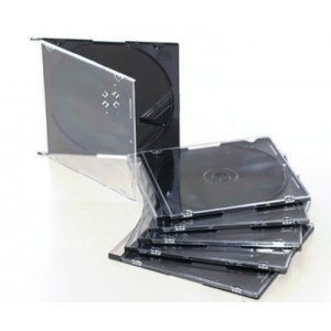 100 Custodie SLIM CD/DVD / Jewel Case