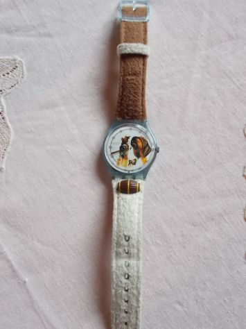 Swatch Atlanta '96 con san bernardo - calzature - borse - accessori Salerno