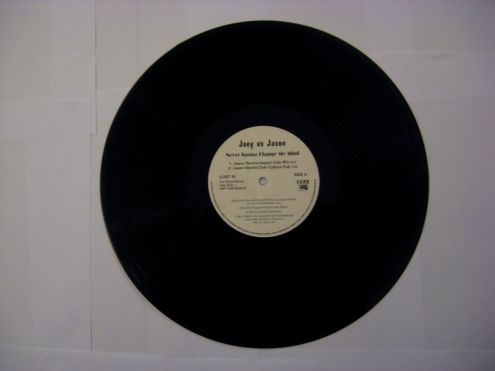 45 rpm (EP) del 1998-Joey Vs Jason-Never Gonna Change My Mind - Foto 3