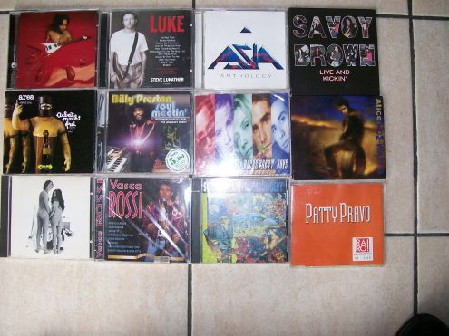 CD Metal,Rock e Vari IN BUONO STATO VENDO IN STOCK !!!