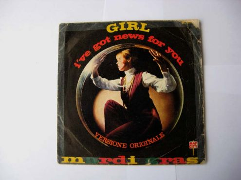 45 giri del 1970-Mardi Gras-girl i 've got new for you