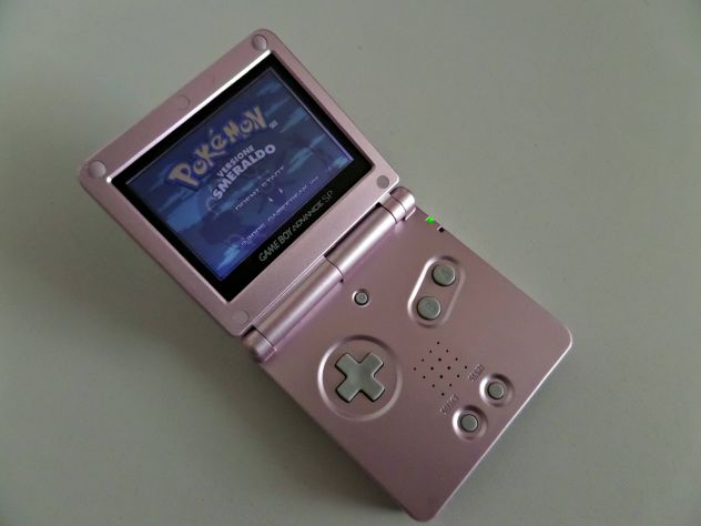 Game Boy Advance SP (Pink Edition) AGS-001 + caricabatterie - Foto 3