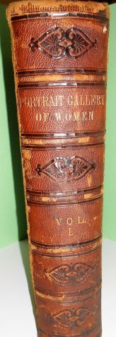 Portrait Gallery of Women. Vol. 1°1875/Galleria di inci … - libri - dispense - fumetti Salerno