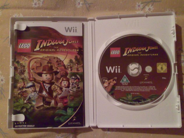 Vendo Lego Indiana Jones The original adventures Wii Pal usato - Foto 3