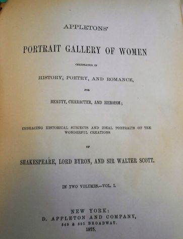 Portrait Gallery of Women. Vol. 1°1875/Galleria di inci … - Foto 2 - libri - dispense - fumetti Salerno