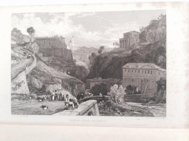 THOMAS ROSCOE THE TOURIST IN ITALY. LANDSCAPE ANNUAL 1832 - Foto 7
