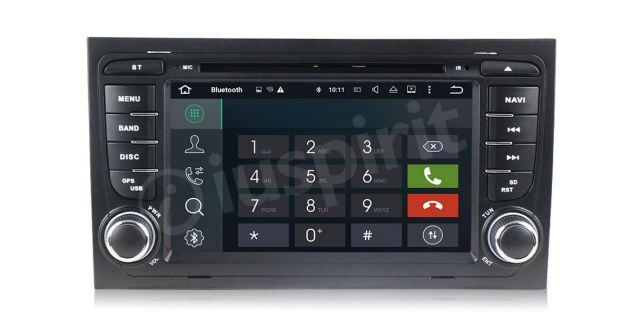 ANDROID 5.1 GPS 2 din autoradio navigatore Audi A4 S4 RS4 Seat Exeo - Foto 6