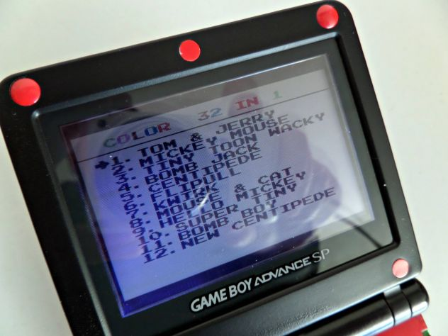 Cartuccia Game Boy Color / Advance. Multigioco 32 giochi in 1 - Foto 2