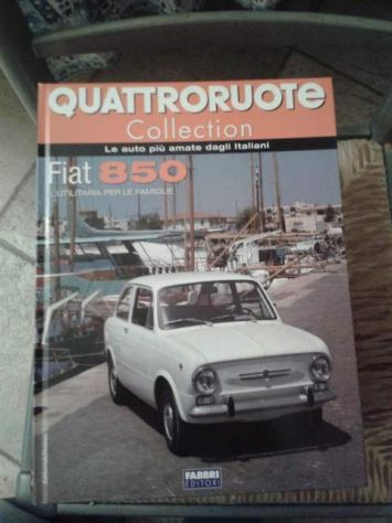 Monografie Quattroruote Collection (fiat,alfa etc) - Foto 6