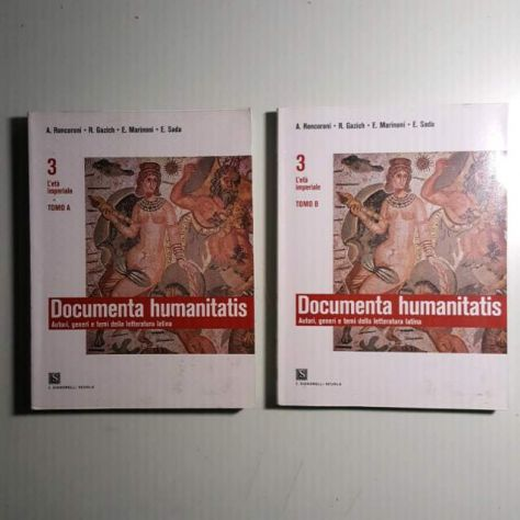 Documenta Humanitatis 3A-3B - libri - dispense - fumetti Trento