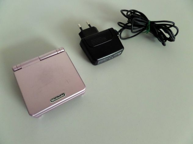 Game Boy Advance SP (Pink Edition) AGS-001 + caricabatterie - Foto 2