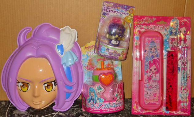 Lotto precure pretty cure bandai fresh suite heartcatch sweet