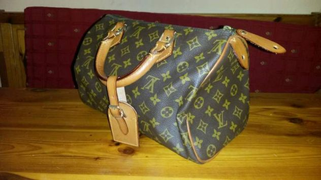 Luis Vuitton originale bauletto speedy - Foto 3 - calzature - borse - accessori Torino