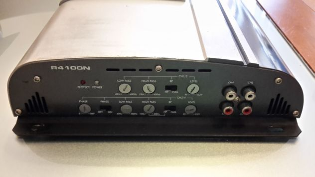 amplificatore rodek r4100n old school 1200w - Foto 2