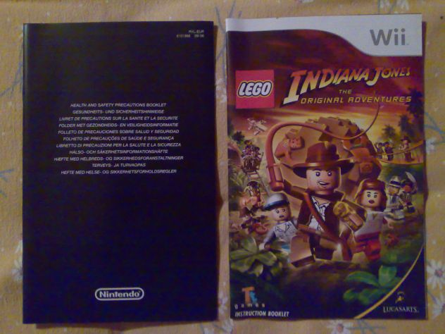 Vendo Lego Indiana Jones The original adventures Wii Pal usato - Foto 4