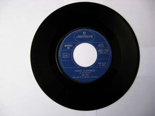 45 giri del 1972-Joe Tex-takin 's a change - Foto 3