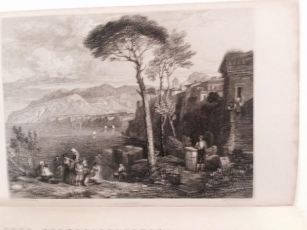 THOMAS ROSCOE THE TOURIST IN ITALY. LANDSCAPE ANNUAL 1832 - Foto 3