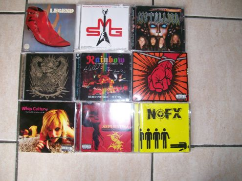 CD Metal,Rock e Vari IN BUONO STATO VENDO IN STOCK !!! - Foto 2