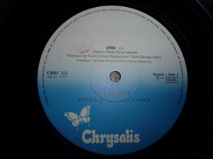 Debbie harry-rush rush/maxine-1984 12'' special mix for d.j only - Foto 3