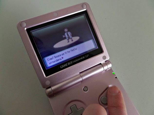 Game Boy Advance SP (Pink Edition) AGS-001 + caricabatterie - Foto 4