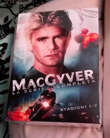 Mac Gyver tutte le stagioni complete in dvd