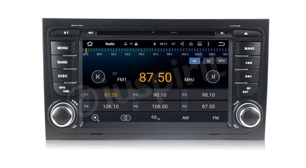 ANDROID 5.1 GPS 2 din autoradio navigatore Audi A4 S4 RS4 Seat Exeo - Foto 3