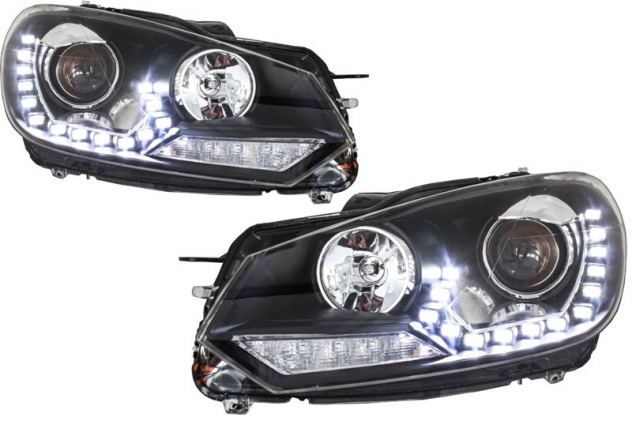 Fari LED DRL Golf 6 VI (2008-up) LED