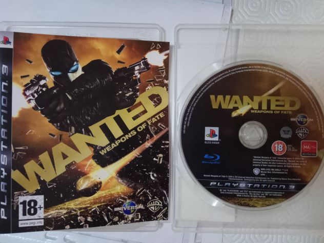 Sony Playstation 3 PS3 Wanted Weapons of Fate pal ita