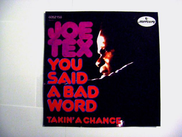 45 giri del 1972-Joe Tex-takin 's a change