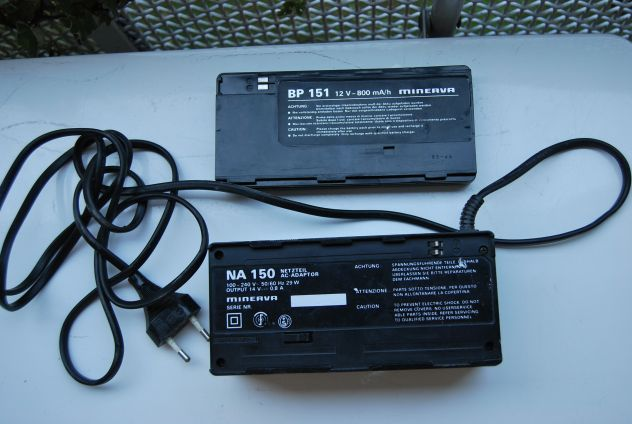 alimentatore  per vhs movie