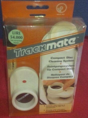 Trackmate CD cleaning system - Kit pulizia CD