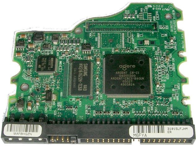 PCB HARD DISK Maxtor Diamond Plus 9 80 GB ATA/133 HDD 3,5 SERIES  Dati - Foto 4
