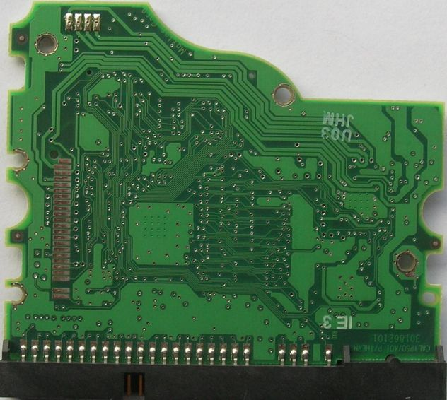 PCB HARD DISK Maxtor Diamond Plus 9 80 GB ATA/133 HDD 3,5 SERIES  Dati - Foto 2