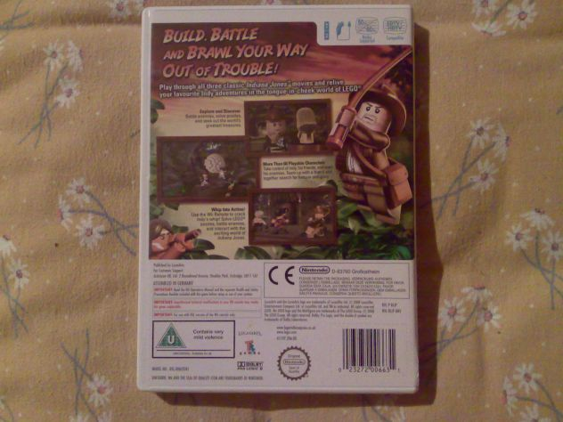 Vendo Lego Indiana Jones The original adventures Wii Pal usato - Foto 2