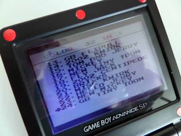 Cartuccia Game Boy Color / Advance. Multigioco 32 giochi in 1 - Foto 4