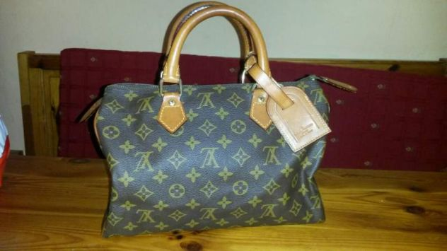 Luis Vuitton originale bauletto speedy - calzature - borse - accessori Torino