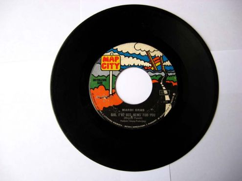 45 giri del 1970-Mardi Gras-girl i 've got new for you - Foto 2