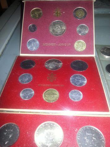 52 MONETE:6 D'ARGENTO MASSICCIO,FIOR DI CONIO,7 SERIE DIVISIONALI,VATICANO E SAN - Foto 8