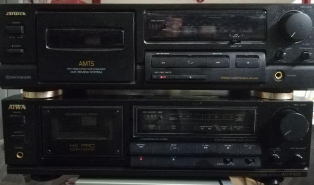 N2 Singole piastre DECK  AIWA Dolby HXPro Servoaasistite.