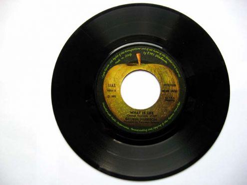 Vinile 45 giri del 1971-George Harrison-What is life - Foto 2
