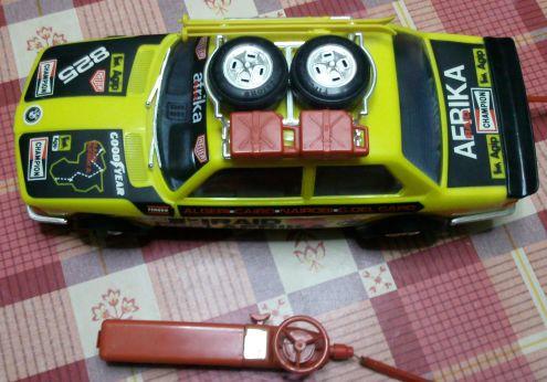 Modellino giocattolo BMW telecomandato anni 80 - Foto 4