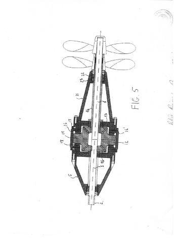 brevetto per linea d'asse controrotante Nuovo Euro 100 - Foto 4