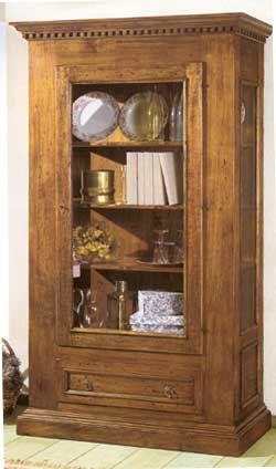 Vetrinetta 1 porta 1 cassetto stile arte povera cod 11408 - Annunci ...