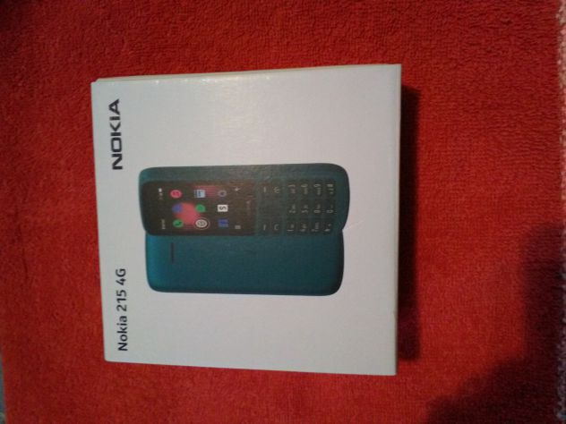 Cellulare  Nokia 215   4G