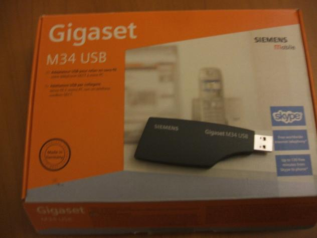 SIEMENS GIGASET M34 USB SIEMENS Nuovo