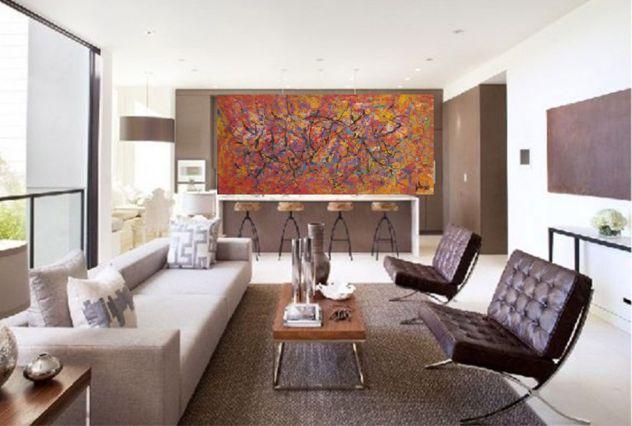 Dipinto unico originale quadri arte contemporanea 95 cm in larghezza
