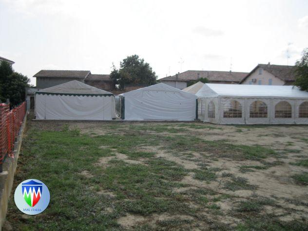 Tendostrutture Professionali Pvc alta densitá 6 x 12 con Velcro e Luce Naturale - Foto 2
