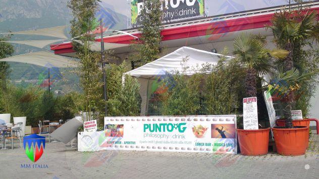 Noleggi in Nord Italia Tendoni Gazebo 4 x 8 pvc ignifugo
