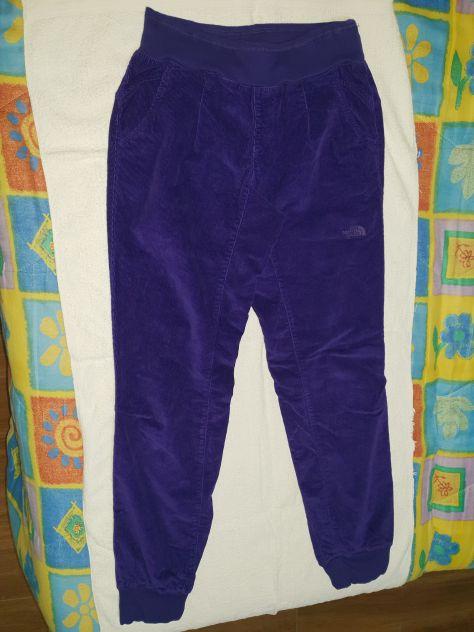 Pantaloni North Face Velluto M Donna NUOVI